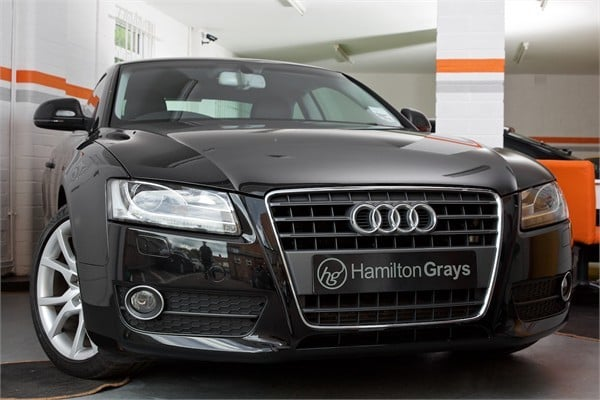 2008 08 audi a5 coupe 2 7 tdi sport sold hamilton grays. Black Bedroom Furniture Sets. Home Design Ideas