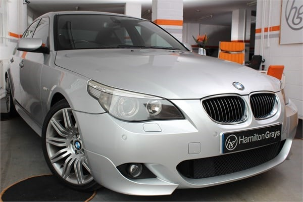 2005 55 bmw 530d m sport saloon sold hamilton grays. Black Bedroom Furniture Sets. Home Design Ideas