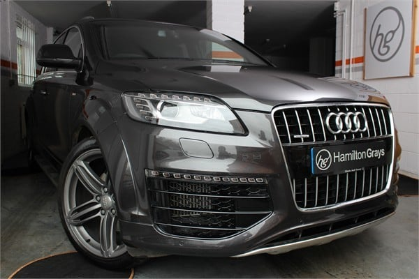 2014 64 audi q7 sport edition s line 3 0 tdi quattro sold hamilton grays. Black Bedroom Furniture Sets. Home Design Ideas