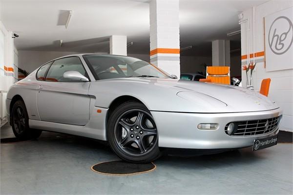 1999 V FERRARI F456M GTA COUPE AUTOMATIC 6
