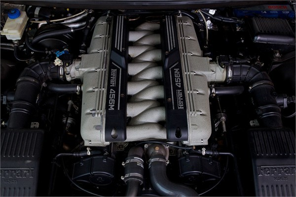 1999 V FERRARI F456M GTA COUPE AUTOMATIC 8