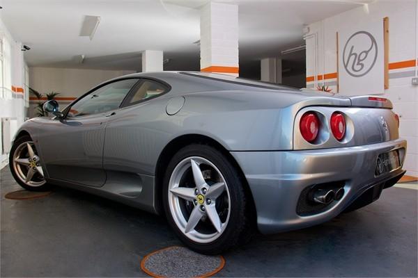 2003 03 FERRARI F360 MODENA MANUAL 7