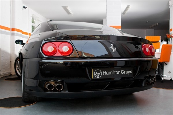 2003 03 FERRARI F456M GTA COUPE AUTOMATIC 2