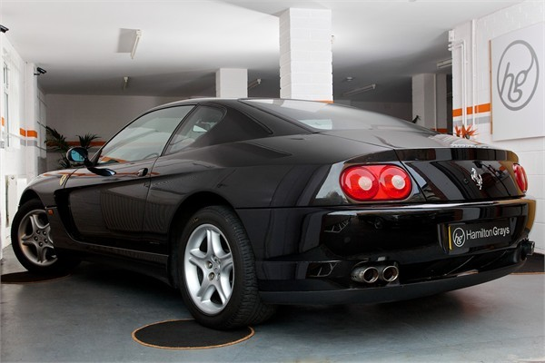 2003 03 FERRARI F456M GTA COUPE AUTOMATIC 7