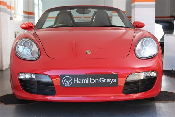 2008 08 PORSCHE 987 BOXSTER 2.7 MANUAL CONVERTIBLE 4