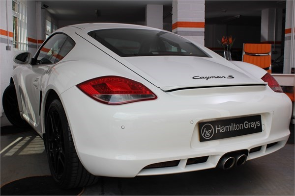 2011 11 PORSCHE CAYMAN 3.4 S MANUAL 2