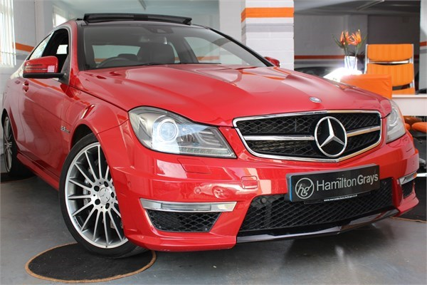 2012 62 MERCEDES C63 AMG COUPE 1