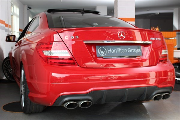 2012 62 MERCEDES C63 AMG COUPE 2