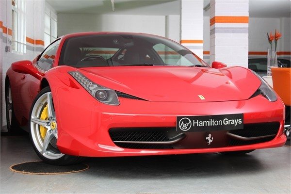 2014 14 FERRARI 458 ITALIA COUPE SOLD 6
