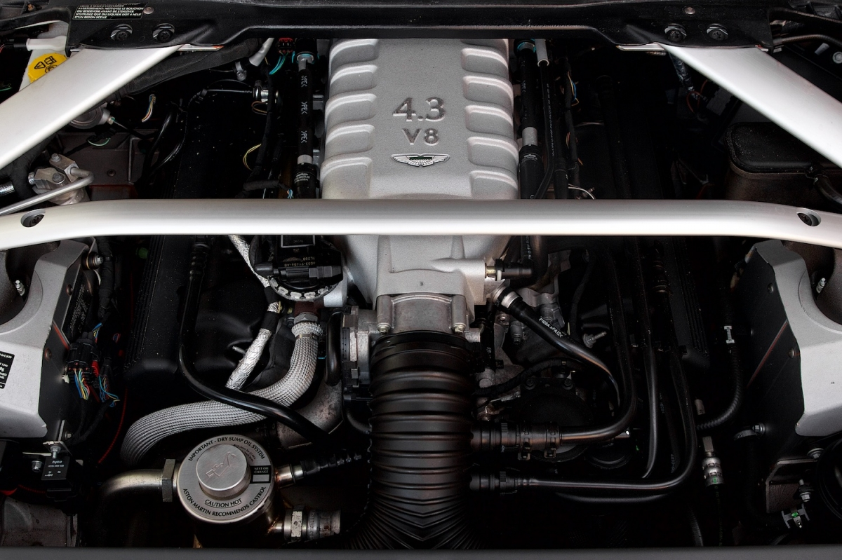 Aston Martin Vantage V8 Engine Bay 2