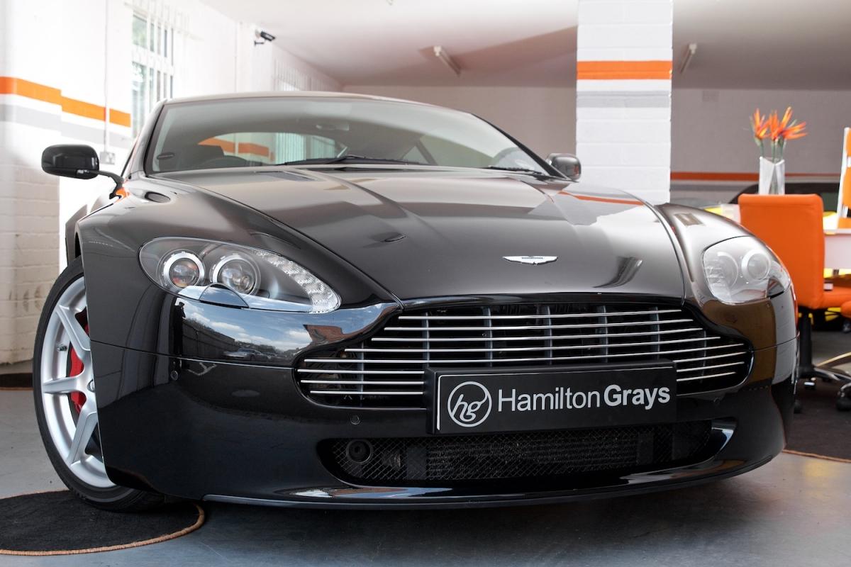 Aston Martin Vantage V8 Front Angle 2
