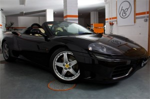 2005 05 FERRARI F360 SPIDER MANUAL 6