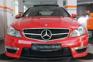 2012 62 MERCEDES C63 AMG COUPE 4