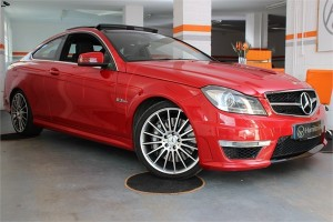 2012 62 MERCEDES C63 AMG COUPE 6