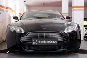 Aston Martin Vantage V8 Front