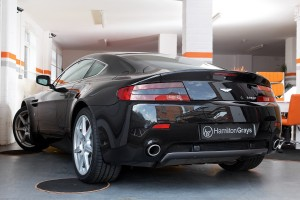 Aston Martin Vantage V8 Rear Side 2