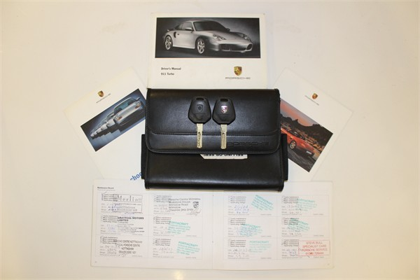 2000 X PORSCHE 996 TURBO COUPE MANUAL 9