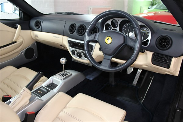 2002 02 FERRARI F360 SPIDER MANUAL 3
