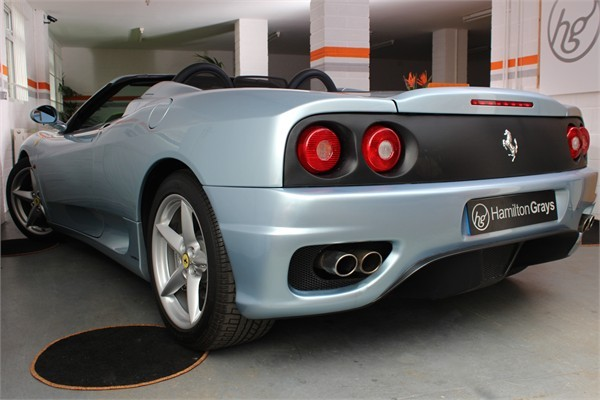 2002 02 FERRARI F360 SPIDER MANUAL 7