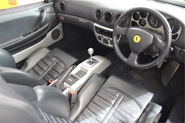 2003 53 FERRARI F360 SPIDER MANUAL 3