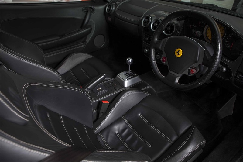 2005 55 FERRARI F430 COUPE MANUAL 3