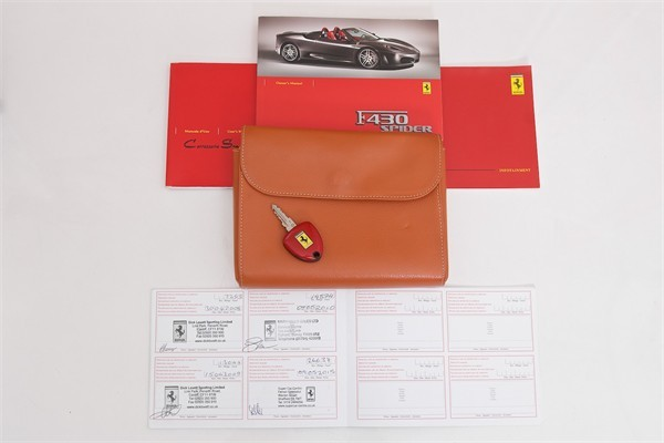 2006 06 FERRARI F430 MANUAL SPIDER 10
