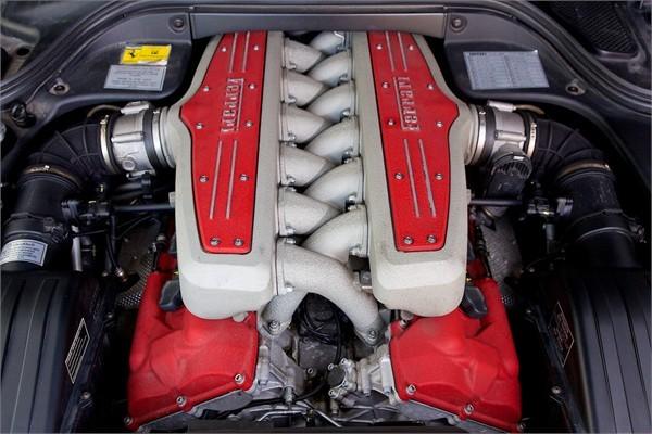 2008 08 FERRARI F1 599 GTB FIORANO 8