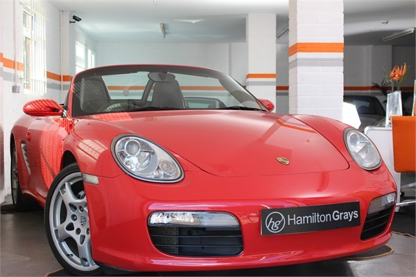 2008 08 PORSCHE 987 BOXSTER 2.7 MANUAL CONVERTIBLE 1