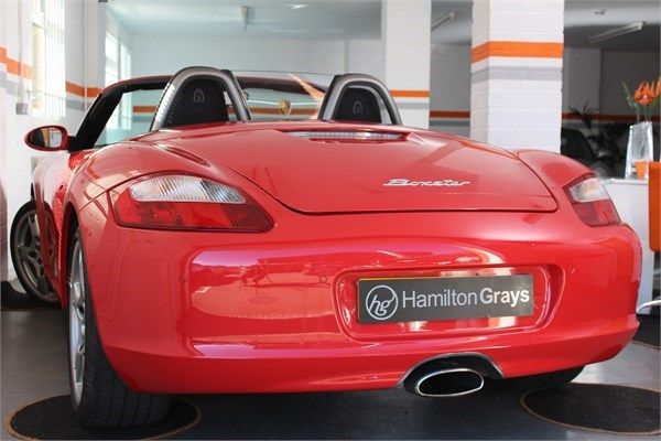 2008 08 PORSCHE 987 BOXSTER 2.7 MANUAL CONVERTIBLE 2