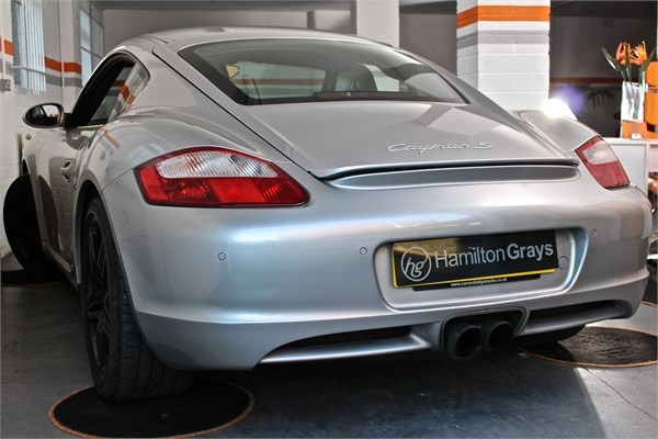 2008 08 PORSCHE CAYMAN 3.4 S MANUAL 2