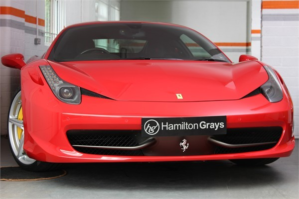 2014 14 FERRARI 458 ITALIA COUPE SOLD 1