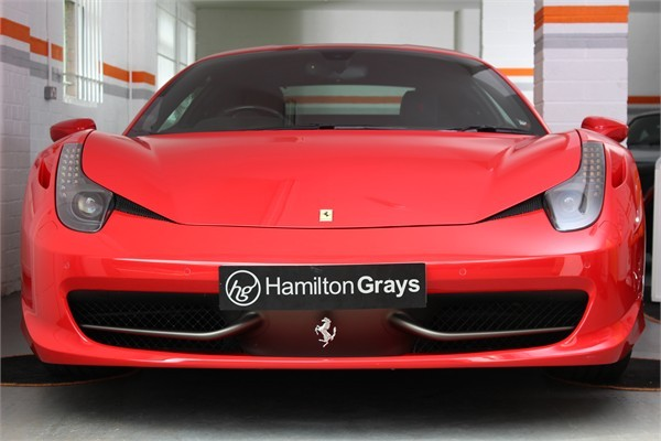 2014 14 FERRARI 458 ITALIA COUPE SOLD 4