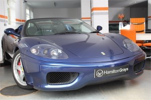 2003 53 FERRARI F360 SPIDER MANUAL 1
