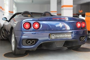 2003 53 FERRARI F360 SPIDER MANUAL 2