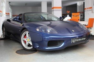 2003 53 FERRARI F360 SPIDER MANUAL 6