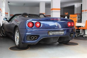 2003 53 FERRARI F360 SPIDER MANUAL 7