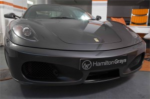 2005 55 FERRARI F430 COUPE MANUAL 1