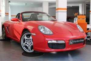 2008 08 PORSCHE 987 BOXSTER 2.7 MANUAL CONVERTIBLE 6
