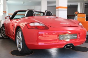 2008 08 PORSCHE 987 BOXSTER 2.7 MANUAL CONVERTIBLE 7