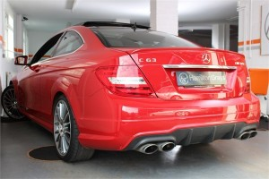 2012 62 MERCEDES C63 AMG COUPE 7