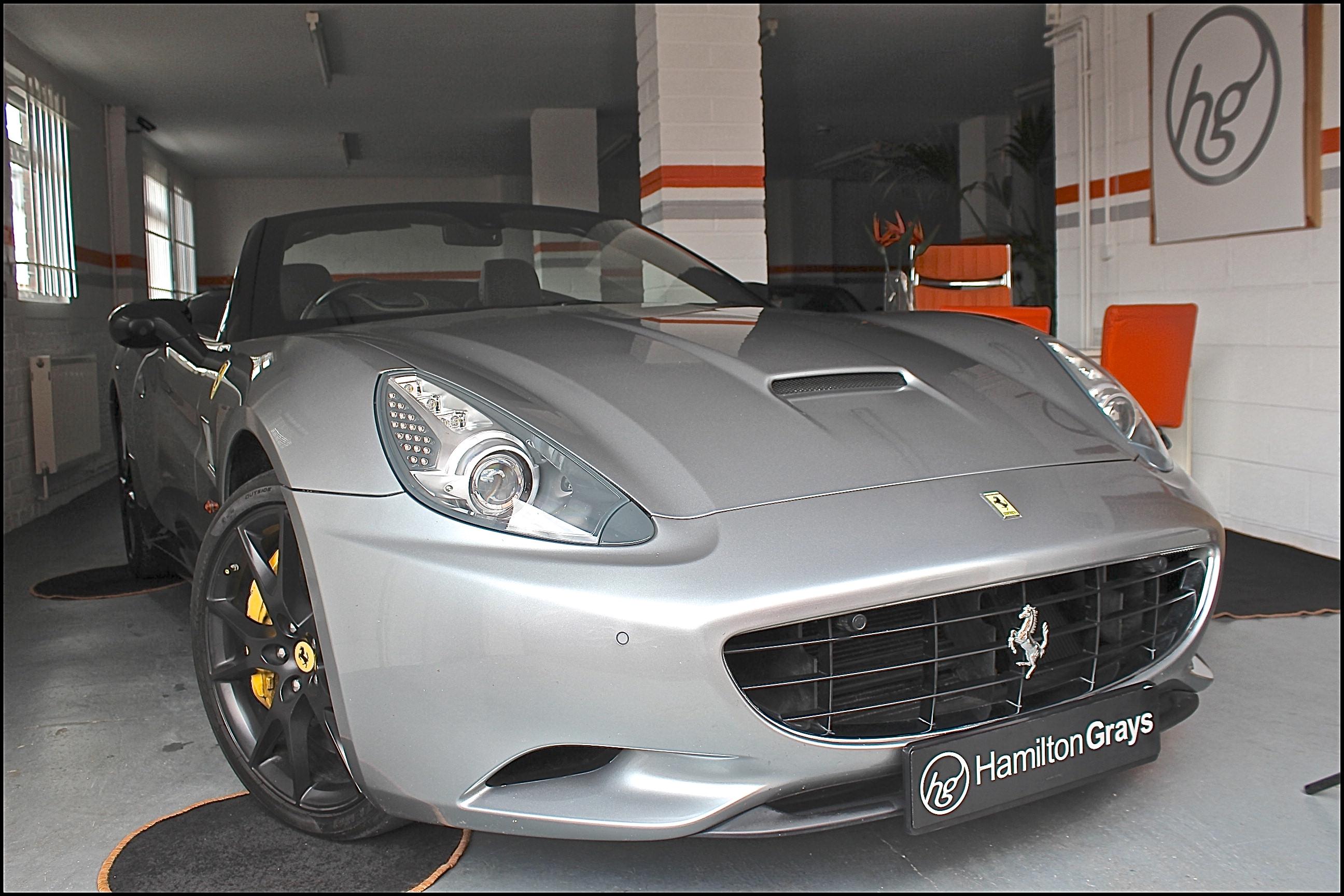 2010 Ferrari California In Grigio Silverstone With Black Hide And Carpets Low Mileage Ffsh Service And Mot Done June 2019 Sold Hamilton Grays