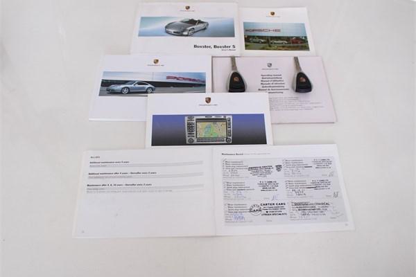 2008 08 PORSCHE 987 BOXSTER 2.7 MANUAL CONVERTIBLE 9
