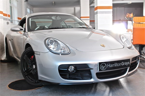 2008 08 PORSCHE CAYMAN 3.4 S MANUAL 1