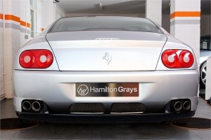1999 V FERRARI F456M GTA COUPE AUTOMATIC 5