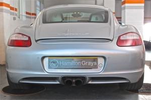 2008 08 PORSCHE CAYMAN 3.4 S MANUAL 4