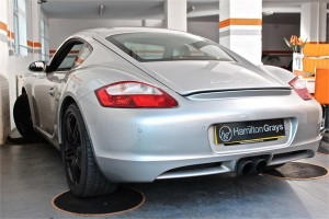 2008 08 PORSCHE CAYMAN 3.4 S MANUAL 6