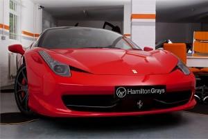 2011 11 FERRARI 458 ITALIA COUPE 1
