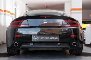 Aston Martin Vantage V8 Rear
